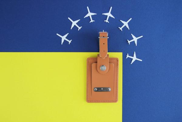 Brit-Stitch Luggage Tag