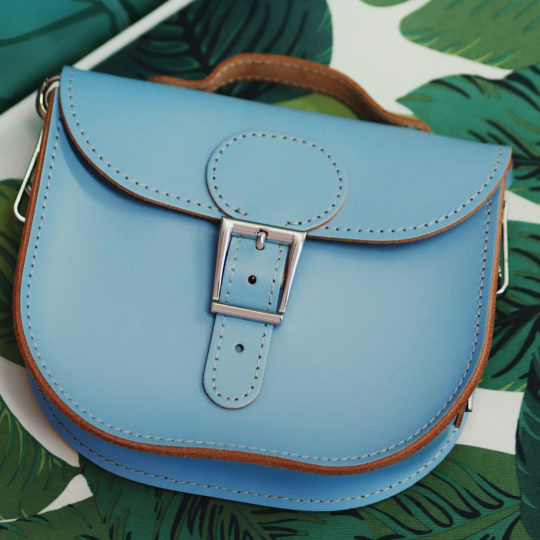Half Pint Small Satchel Bag Dusk Blue