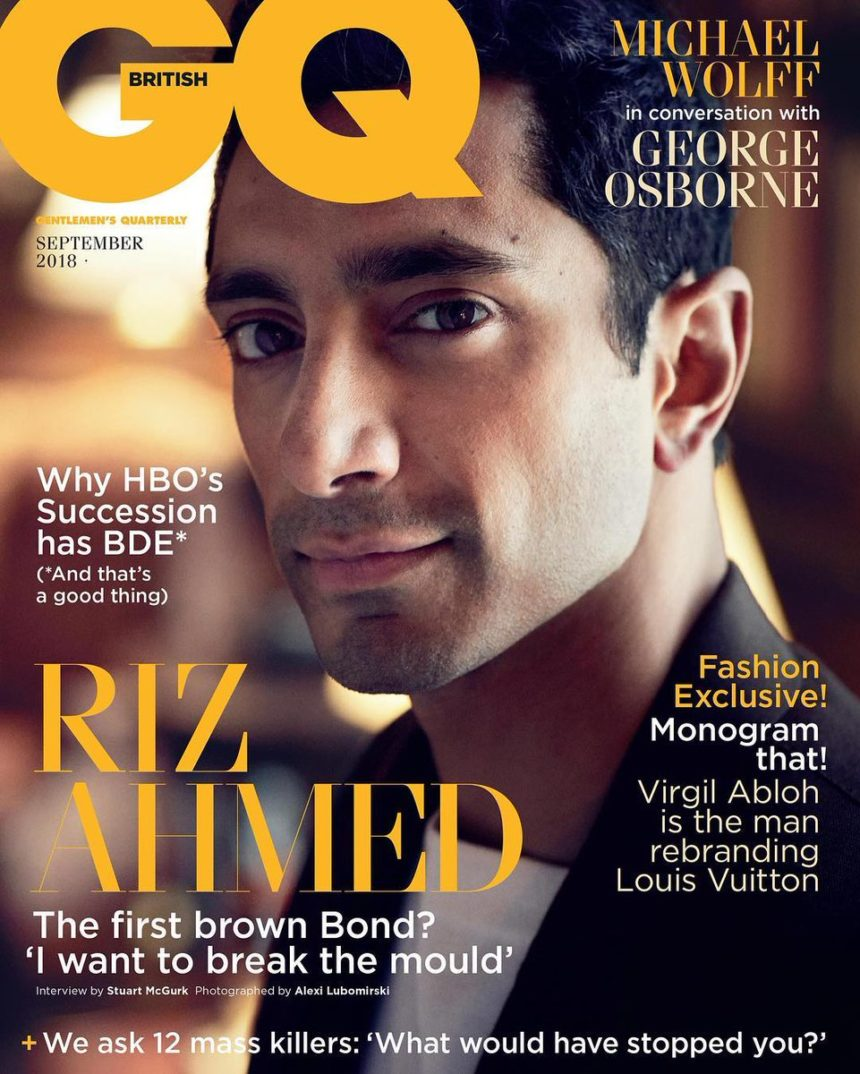 As Seen In … GQ Sept 18